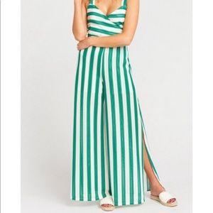 Court Pants- Cabana stripe